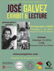 Jose Galvez Exhibit flyer